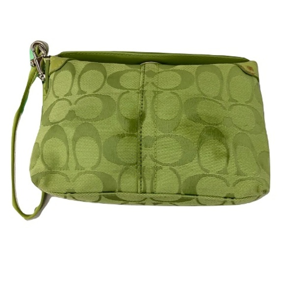 Coach Handbags - Coach - Signature C Top Turnlock Wristlet